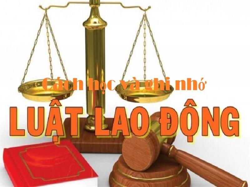 Cách học và ghi nhớ Bộ Luật Lao động