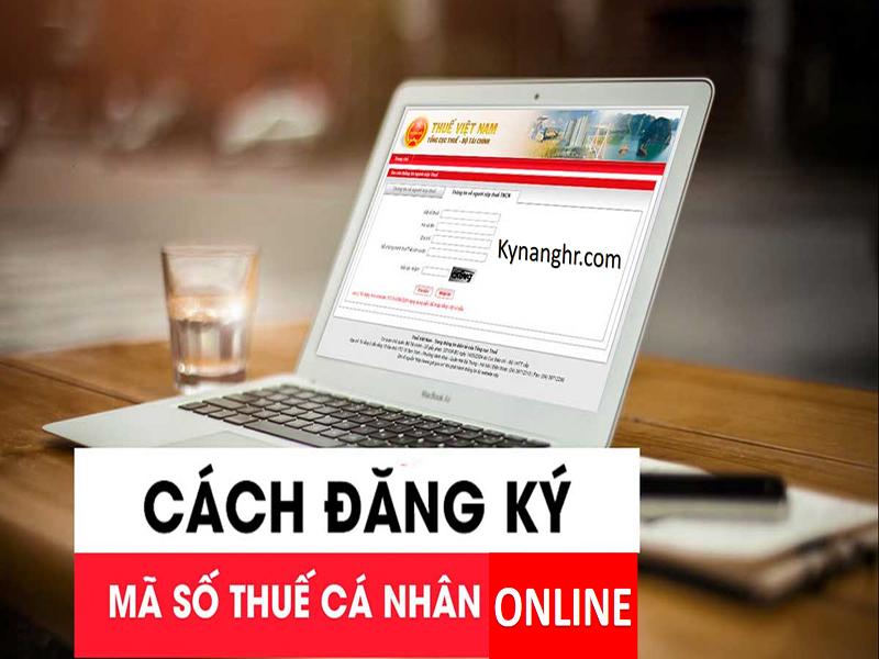 Đăng ký mã số thuế cá nhân theo phương thức online
