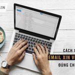 Cách viết email xin việc thu hút nhà tuyển dụng